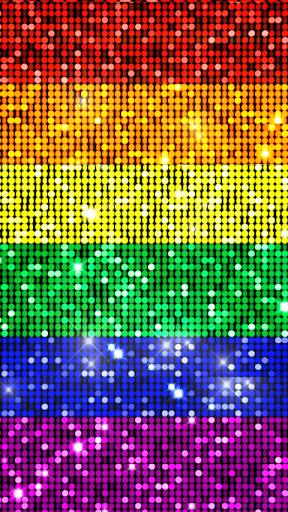 【免費生活App】Gay Pride Bling Live Wallpaper-APP點子