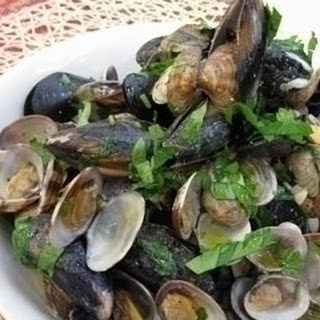 Mussel And Clam Stew.