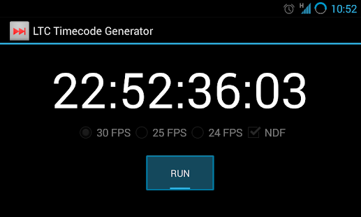 Ltc Timecode Generator Free Android Apps On Google Play