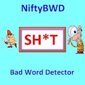 NiftyBWD - Bad Word Detector