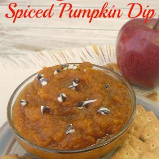 Fresh Spiced Pumpkin Dip Recipe