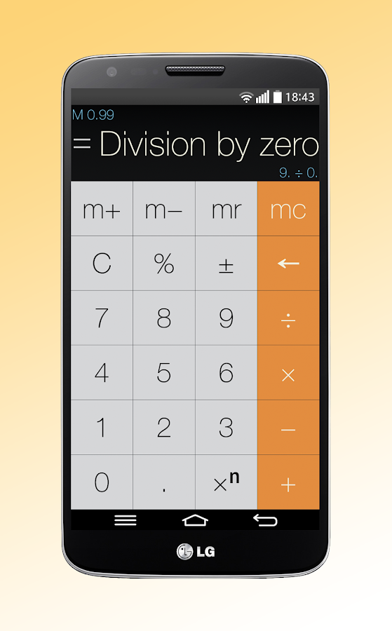 Calculator Without Equals - screenshot