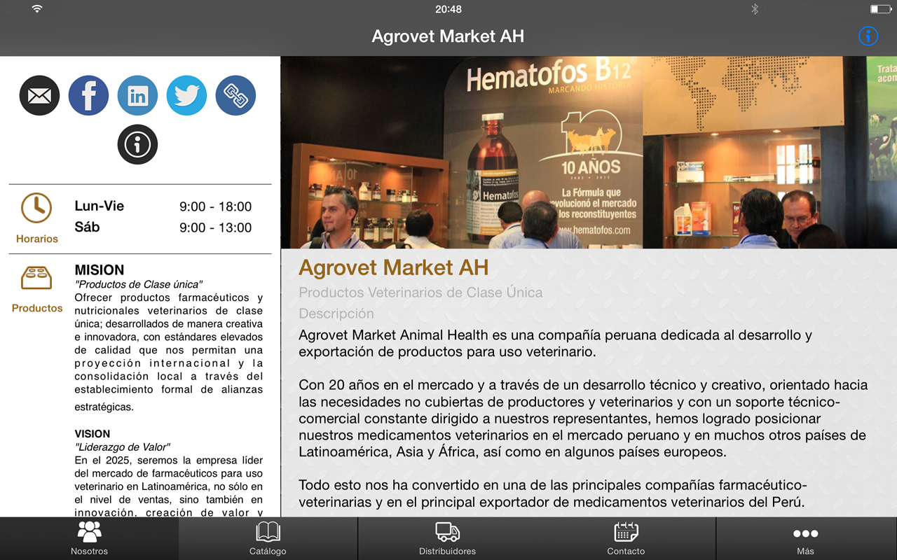 Agrovet Market Animal Health – знімок екрана