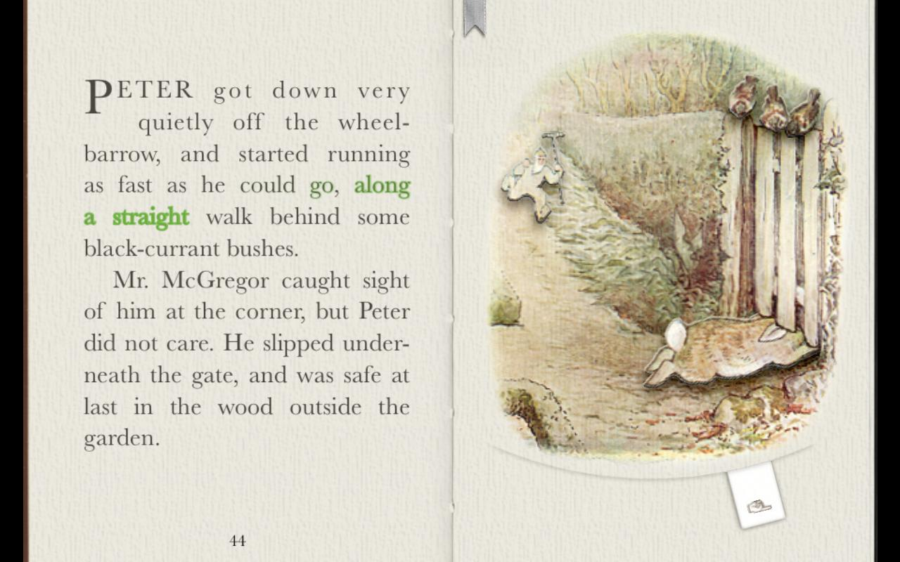 PopOut! Tale of Peter Rabbit- screenshot