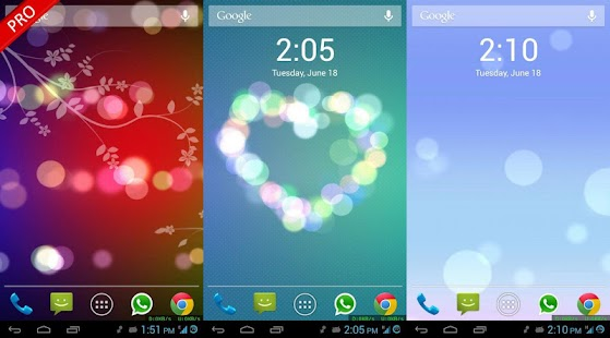Bokeh 3D Live Wallpaper- screenshot thumbnail