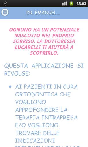Dr Emanuela Lucarelli