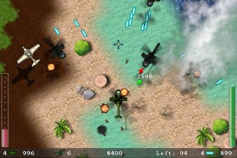 Blue Skies Helicopter Shooter- screenshot