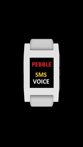Pebble SMS Voice