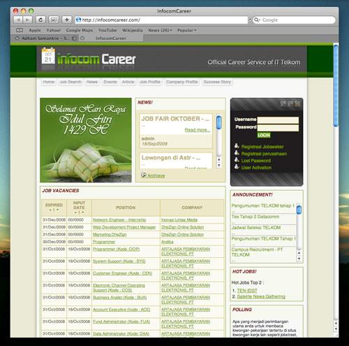 InfocomCareer Nyolong Ketupat Basi