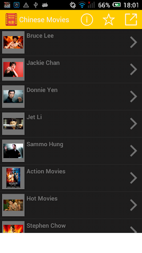 The Ultimate Jackie Chan List
