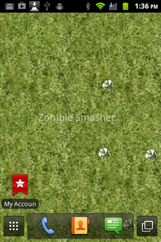Zombie Smasher LIVE wallpaper