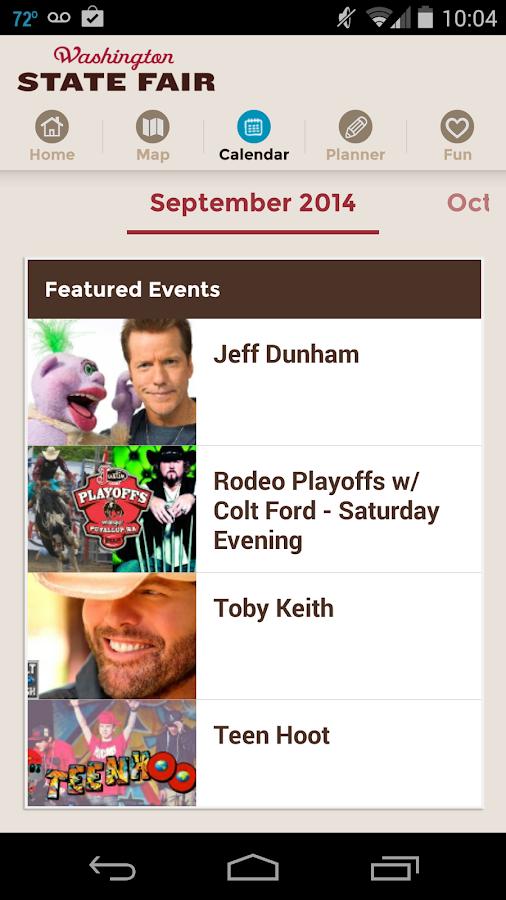 Washington State Fair - screenshot