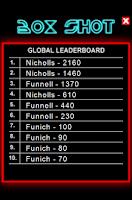 Screenshot of BoxShot Skill Game