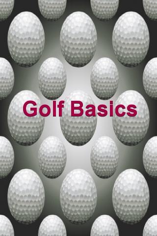 Golf Basics 2.0