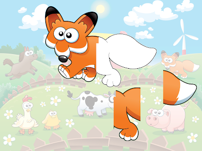 Animal sounds puzzle HD- screenshot thumbnail