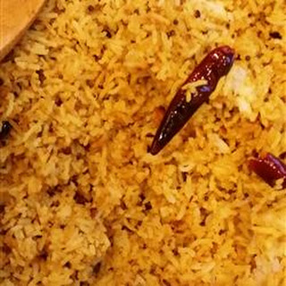 Exotic Indian Tangy Rice.