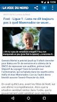 Screenshot of La Voix du Nord