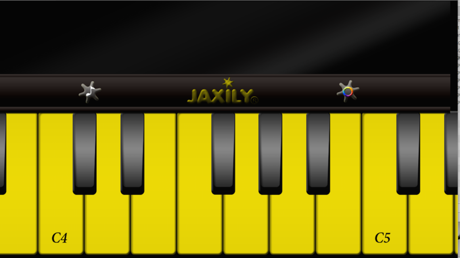 Piano Keys- screenshot