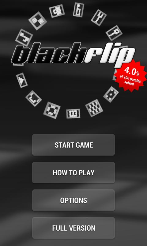 Blackflip lite- screenshot