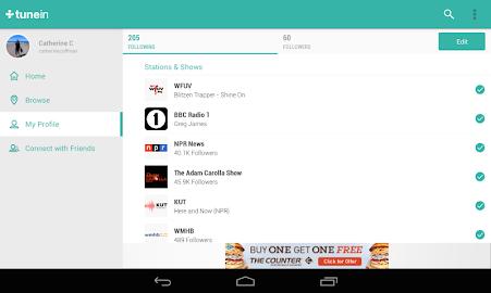 TuneIn Radio - Radio & Music Screenshot 30