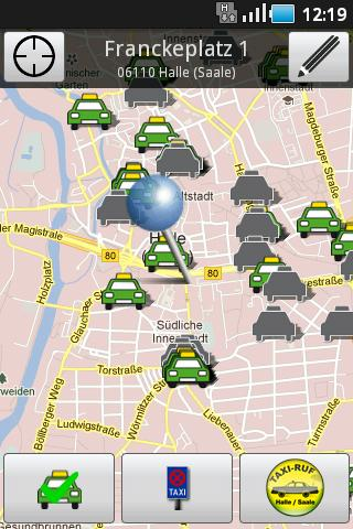 Taxi Halle- screenshot