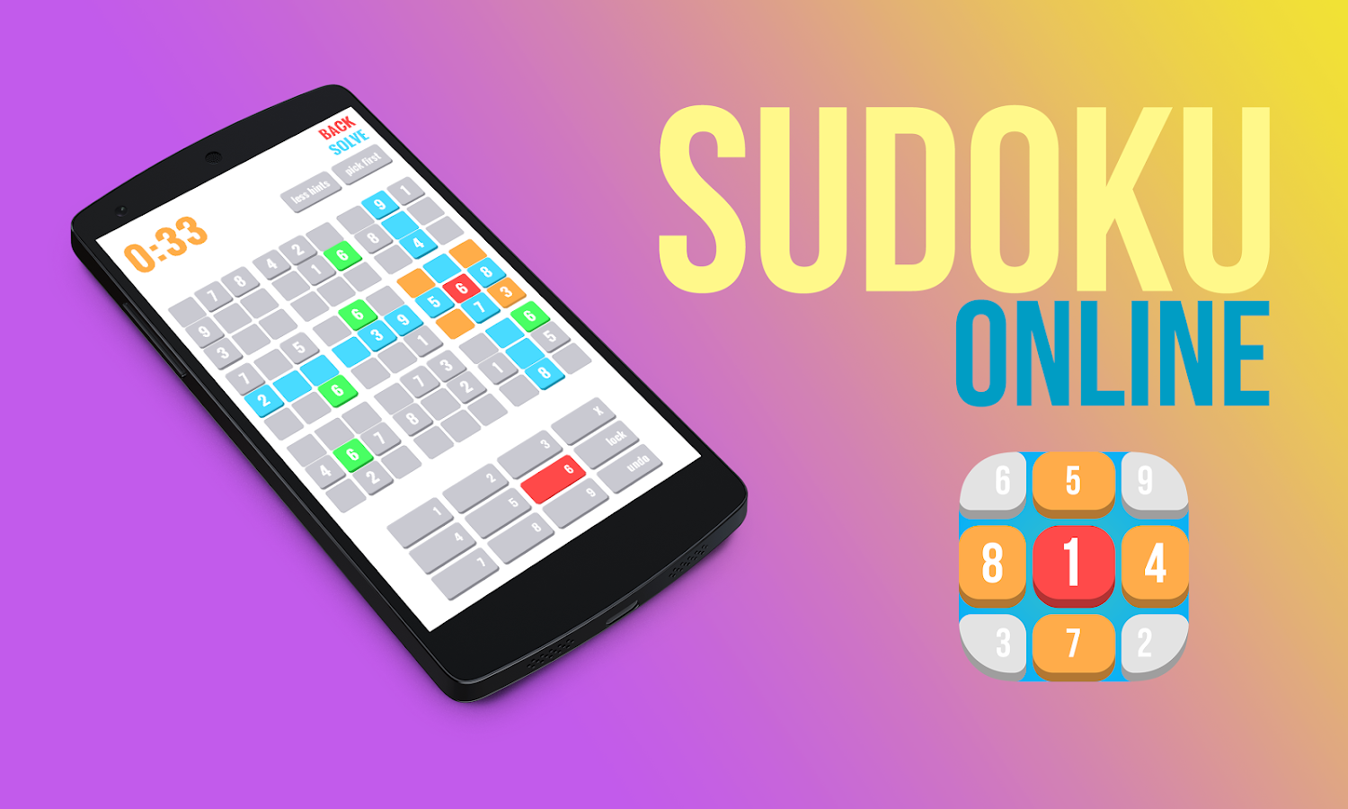 Sudoku Online- screenshot