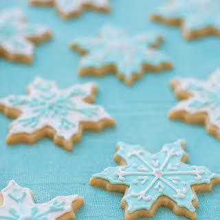 Vanilla Almond Sugar Cookies.
