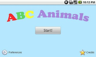Screenshot of ABC Animals