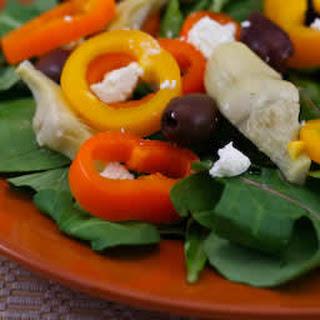Arugula Salad with Marinated Artichoke Hearts and More Recipe