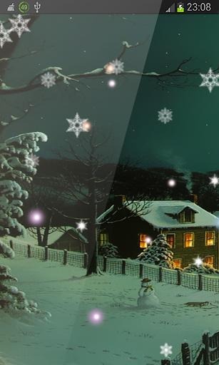 Beautiful Snowflakes Xmas HD