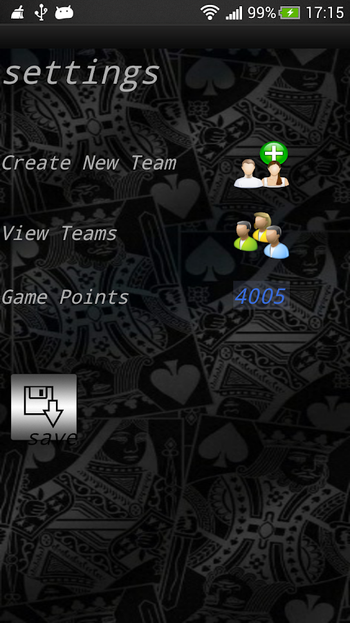 Biriba Scoreboard (Mpirimpa) - screenshot