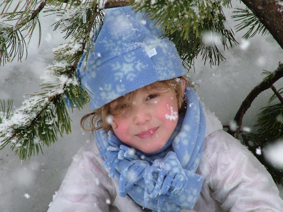 snowy angel by Heather McDougall - Babies & Children Children Candids (  )