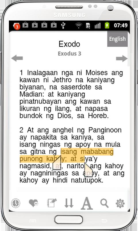 Tagalog Bible ( Ang Biblia ) - screenshot