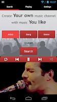 Screenshot of Tunebox Youtube Radio