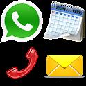 Phone Events Widget icon