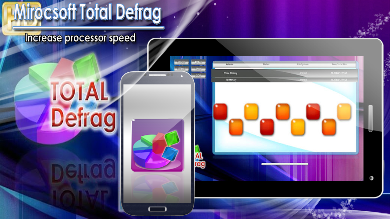 Mirocsoft Total Defrag - screenshot