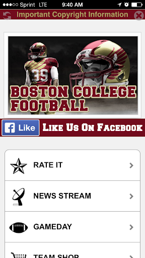 Boston College Football STREAM