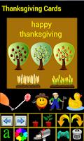 Screenshot of Thanksgiving Cards