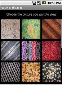 Batik Wallpaper screenshot 0