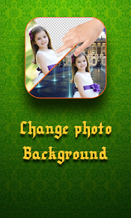 Change photo background Screenshot