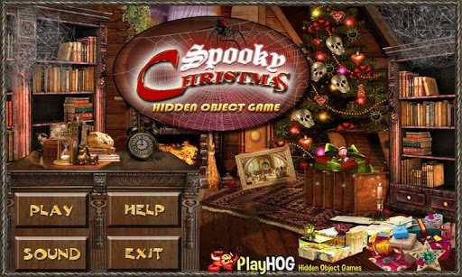 Spooky Christmas Hidden Object