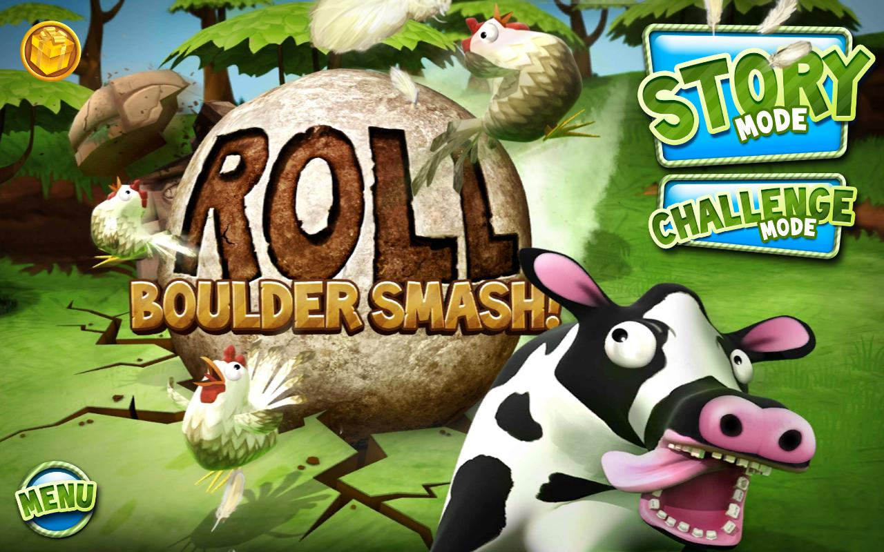 Roll: Boulder Smash! - screenshot