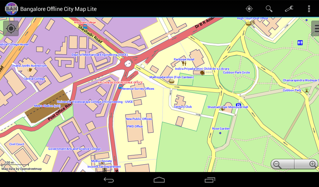 Bangalore Offline City Map  Android Apps on Google Play