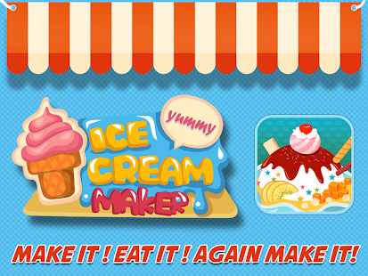Ice Cream Maker - Kids Games