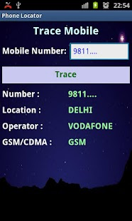 Phone Locator(Indian mobile) - screenshot thumbnail