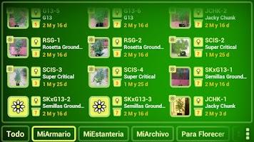 Screenshot of myGrow