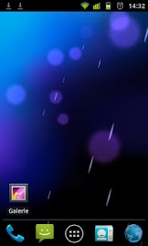 ICS Phase Beam Live Wallpaper Screenshot 1