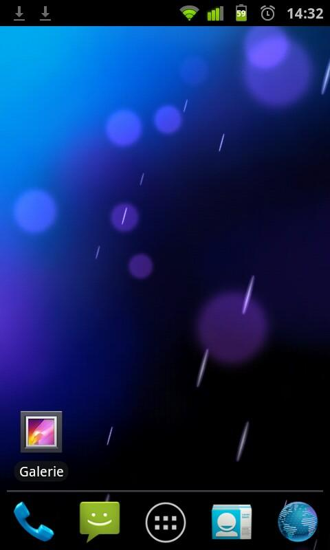 ICS Phase Beam Live Wallpaper - screenshot