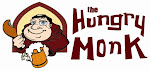 Logo for The Hungry Monk