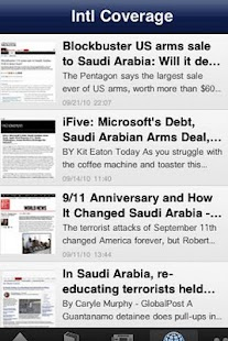 Top Saudi Arabia News - screenshot thumbnail